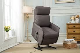 amazon com classic power lift recliner living room chair grey