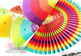 paper fan circle decorations 2018 fiesta paper fan decorations paper fan wholesale tissue paper