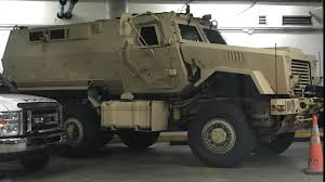 miami beach police obtain military armored mrap truck from