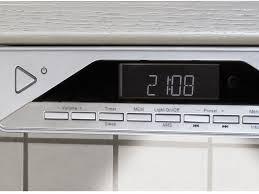 under cabinet radio bluetooth ur2040 under cabinet kitchen fm dab radio with bluetooth