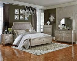 Upholstered Headboard Bedroom Sets Silver 3 Or 5 Piece Bedroom Suite Windsor Silver Bedroom Set