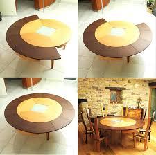 expanding circular dining table expanding dining table expanding round dining table uk