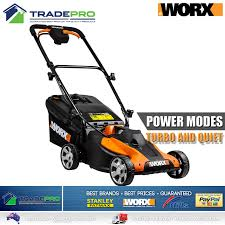 lawn mower worx cordless lawnmower with 40v lithium battery