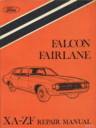 ford falcon xa repair manual brake vehicle technology