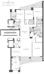 Parc Imperial Floor Plan by Bath Club We Rent Brickell