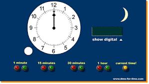 teaching telling time
