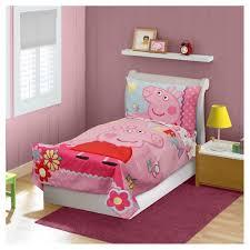 Toddler Bed Set Target Peppa Pig 4 Pc Toddler Bed Set Pink Target