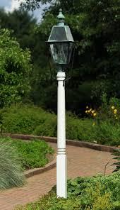 wooden cedar lamp post 5