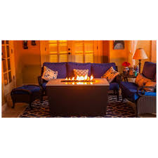 Rectangle Fire Pit - firetainment u0027the malibu u0027 28