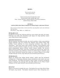format artikel yang benar aturan penulisan artikel jurnal ilmiah ug