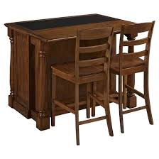 home styles kitchen islands monarch kitchen island with granite top two stools oak home