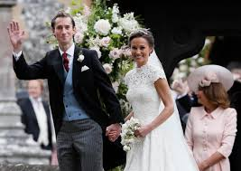high society pippa middleton marries at almost royal event komo