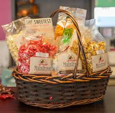 ohio gift baskets gift box mainstreet fudge and popcorn co in berlin ohio