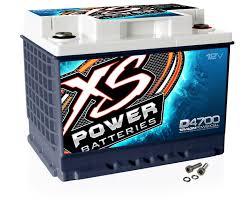 xs power d4700 12 volt agm 2900 sealed car audio battery power