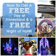 disneyland vacation deal how to get a free day in the park and