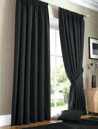 Black And Grey Curtains Black Curtains Living Room Black And White Decorating Ideas Floor
