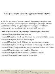 passenger service agent cover letter