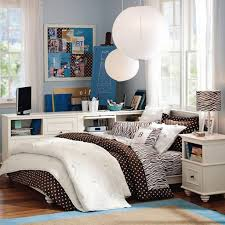 bedroom floating bedside table along with brown wooden floating