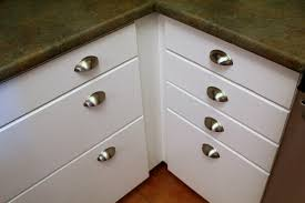 cool kitchen cabinet knobs with backplates home design image