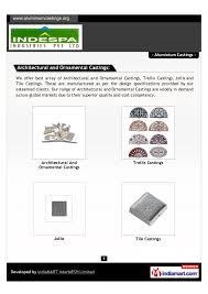 indespa industries pvt ltd coimbatore aluminium castings