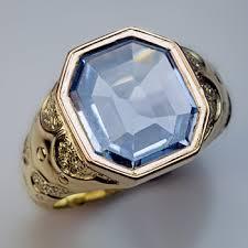 antique sapphire men u0027s gold ring antique rings pinterest