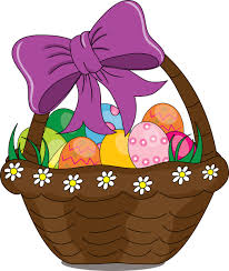 clip art illustration of a cartoon easter basket wv family online