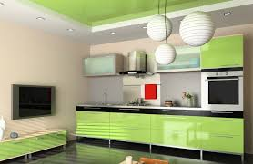 kitchen style kitchen color combination mint green wall ceiling
