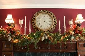 home decoration christmas minimalist christmas mantel decoration