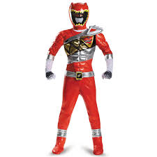 Pit Crew Halloween Costume Buy Power Rangers Dino Charge Prestige Kids Red Ranger Costume