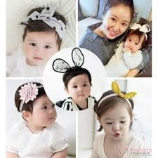 korean headband baby headband korean ribbon flower 6 design