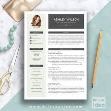 Creative Resume Templates Free Word Creative Resume Template Modern Cv Word Cover Lette Peppapp