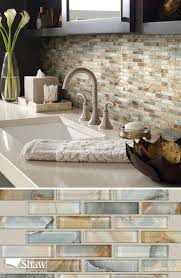 kitchen backsplash glass mosaic tile backsplash tile ideas