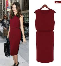 women summer dress high quality plus size women work wear