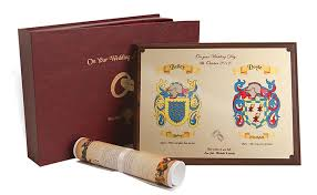 Wedding Gift Set Coat Of Arms Heraldic Wedding Gift Set At Irishshop Com Hgw001