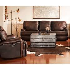Brown Leather Reclining Sofa by Kingsway Power Reclining Sofa Brown Value City Furniture