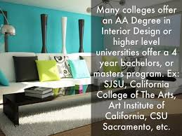 Requirements For Interior Designing Style Interior Designer Education Design Interior Designer