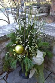 Christmas Decorating Ideas Outdoor Planters Pictures 1050 Best Christmas U0026 Winter Pots Images On Pinterest Christmas