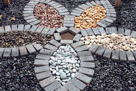 beautify your garden design with river rocks geobunga hawaii