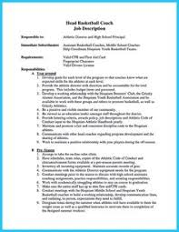 Basketball Coach Resume Example by Awesome 30 Sophisticated Barista Resume Sample That Leads To