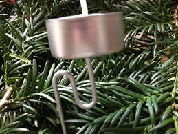 getting the led out tree candles and candle holders are