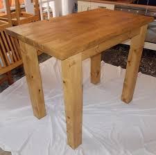 Oak Breakfast Bar Table Solid Oak Breakfast Bar Creepingthyme Info