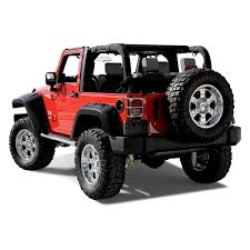 jeep open top bushwacker jeep wrangler 2007 2017 max coverage pocket style