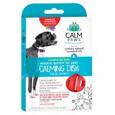 calming collar calm paws dog calming disk medallion petco