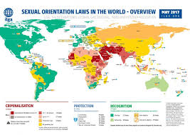 africa map states where is it illegal to be in africa
