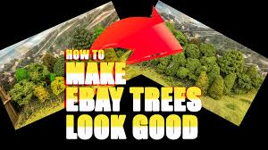 how to make cheap ebay trees look
