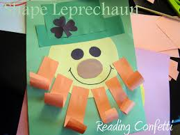 easy rainbow and pot of gold craft reading confetti