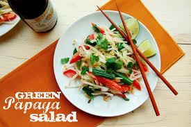 green papaya salad som tam 10th kitchen