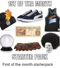 1st Of The Month Meme - ist of tha month land food coupon 31516153or 16153no nold starter