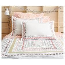 Target Comforter Neutral Pastel Geo Border Comforter Set Full Queen Multicolor