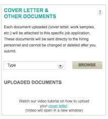 how do i upload a cover letter u2013 charityvillage help desk